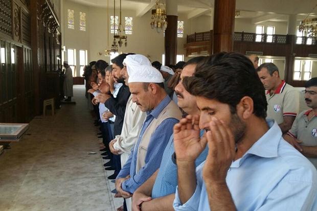 Harran Üniversitesinde Abdullah Yeğin için gıyabi cenaze namazı kılındı