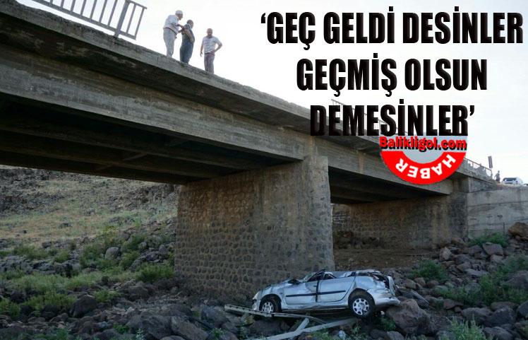 Köprüden uçtu: 5 yaralı