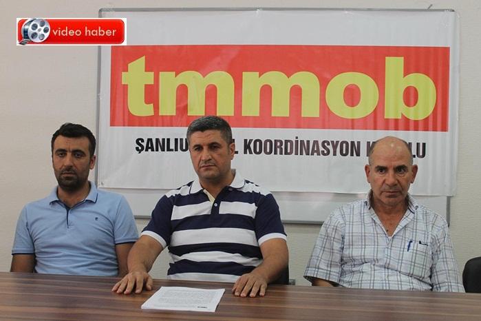 TMMOB Şanlıurfa Temsilciliğinden Uluslararası İşgücü Kanun Tasarısı'na tepki