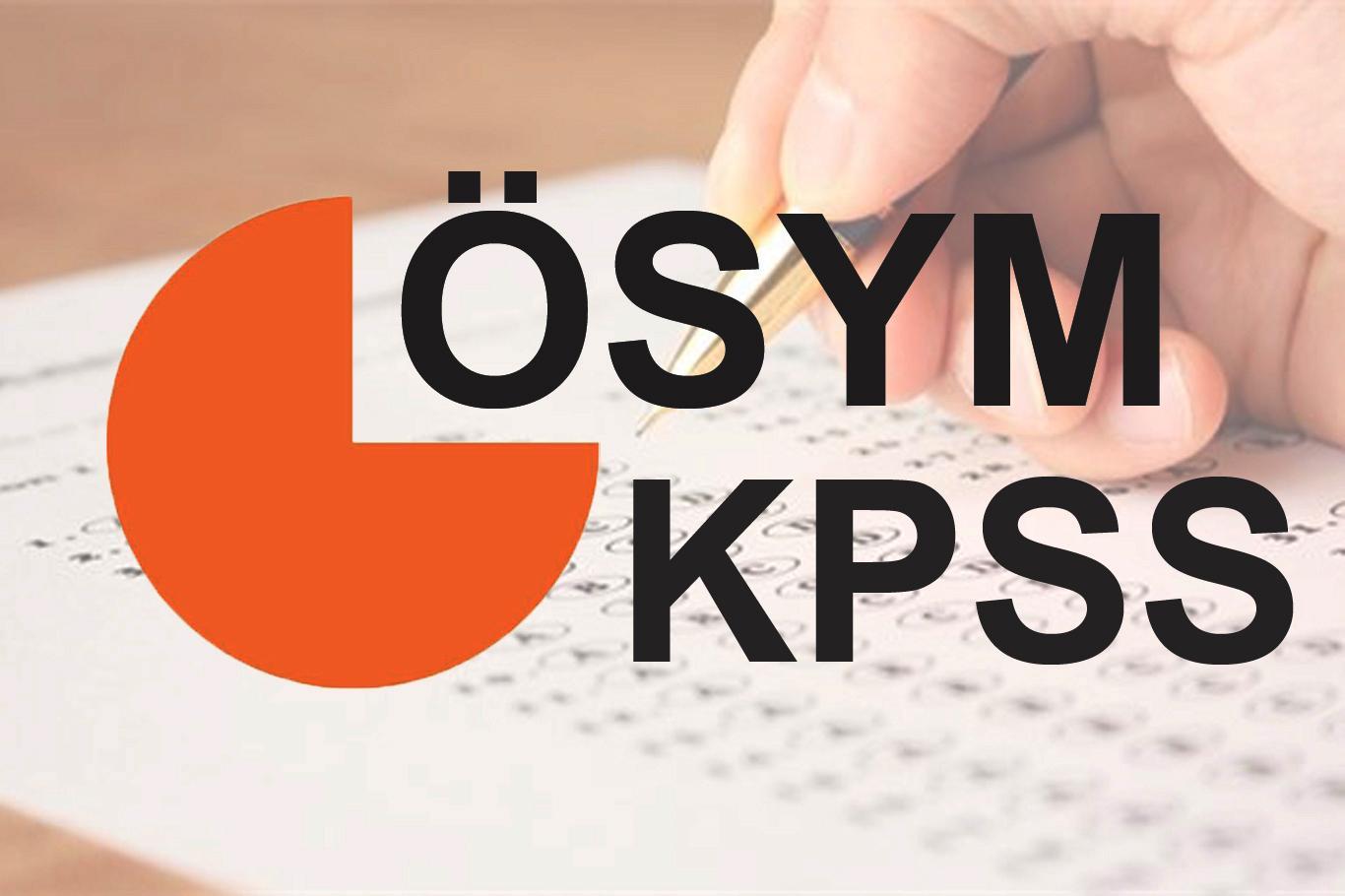 Son Dakika!KPSS lisans sonuçları açıklandı