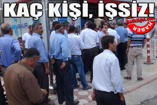Bakın Türkiye'de kaç işsiz var? İşte o sayı
