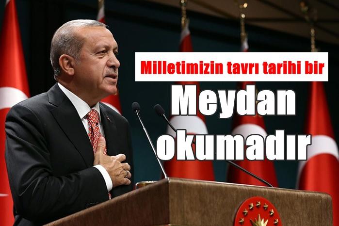 Bugüne kadar gözaltına alınanların listesini Erdoğan açıkladı
