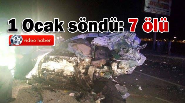 Suruç'ta katliam gibi kaza: 7 ölü