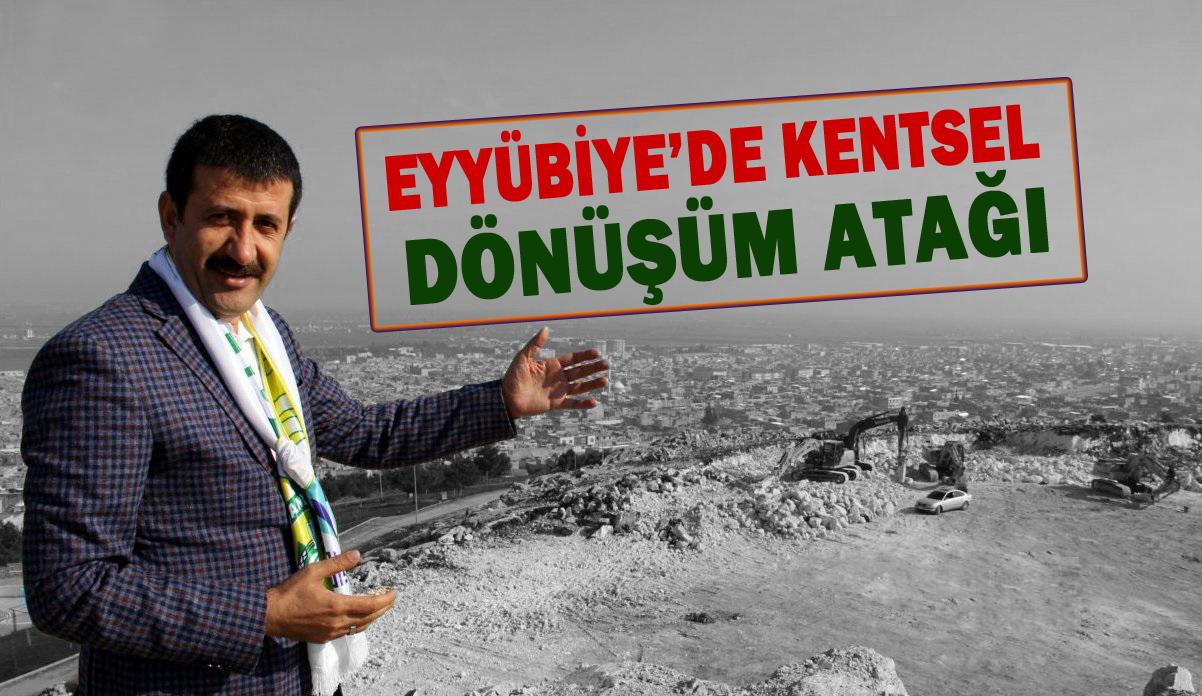 Eyyübiye Belediyesi farklı bir kentsel dönüşüm yapacak!