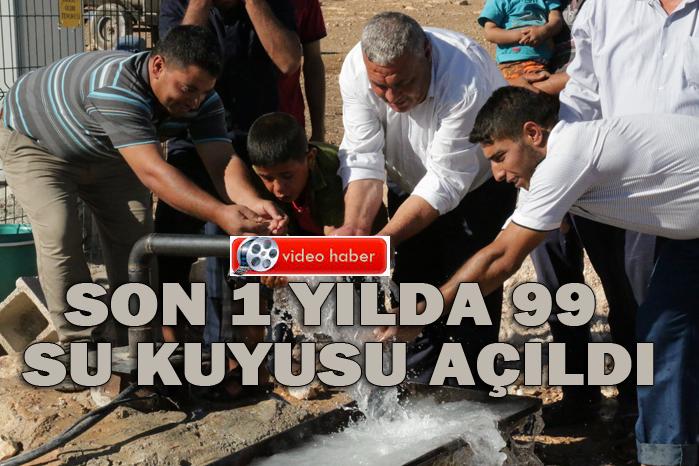 Urfa'da Kırsal Mahallelerde Su Sorunu Tarihe Karışıyor