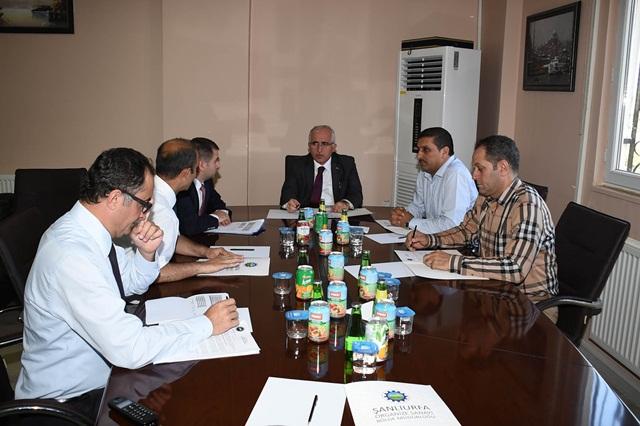 Şanlıurfa OSB Yönetimi Vali Tuna Başkanlığında Toplandı