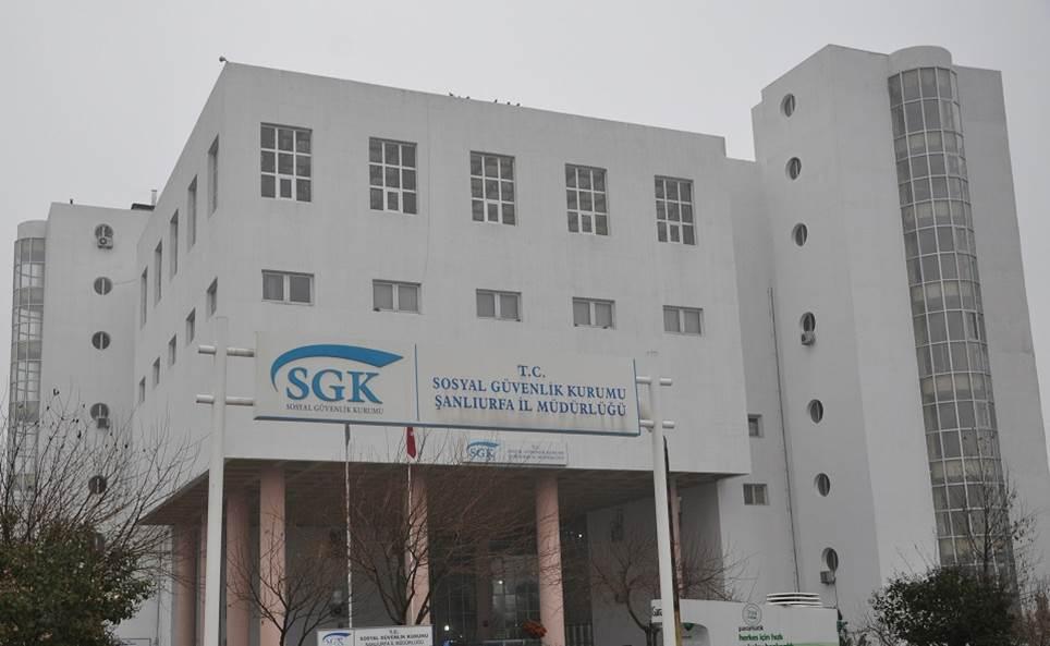 Urfa SGK Müdürlüğünden Flaş Açıklama