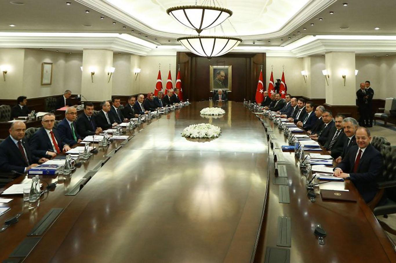 Bakanlar Kurulu, Başbakan Yıldırım başkanlığında toplandı
