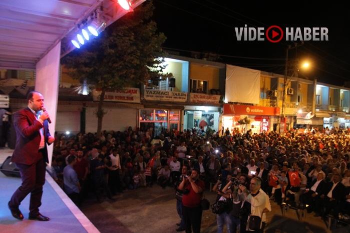 Viranşehir İlçesinde Demokrasi Nöbetinde Devam Ediyor