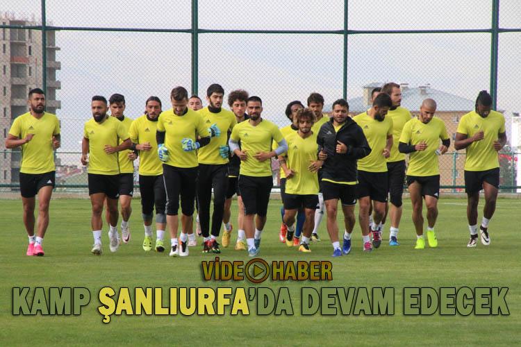Şanlıurfaspor'un Erzurum Kampı sona eriyor
