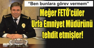 Şanlıurfa Emniyet Müdürü Pınarbaşı'nın ses kaydı yayınlandı