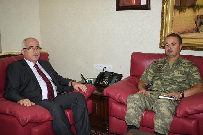 20. Zırhlı Tugay Komutanlığına İsmail Hakkı Köseali atandı