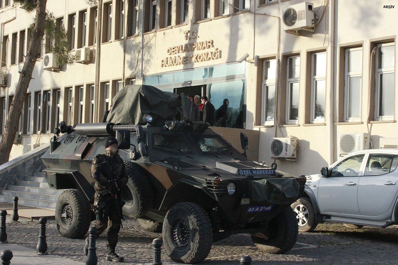 Ceylanpınar'da 7 kişi gözaltına alındı