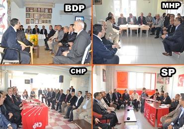 AK Parti Diğer Partilerle Bayramlaştı