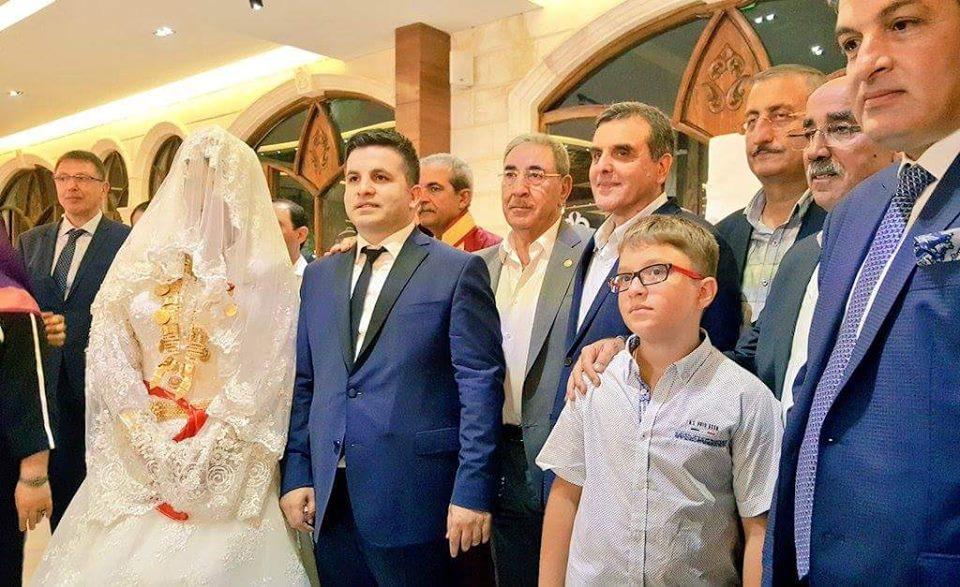 Mahmut Barut evlendi