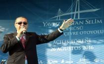 Dünyanın en büyük köprüsü Yavuz Sultan Selim Köprüsü törenle açıldı