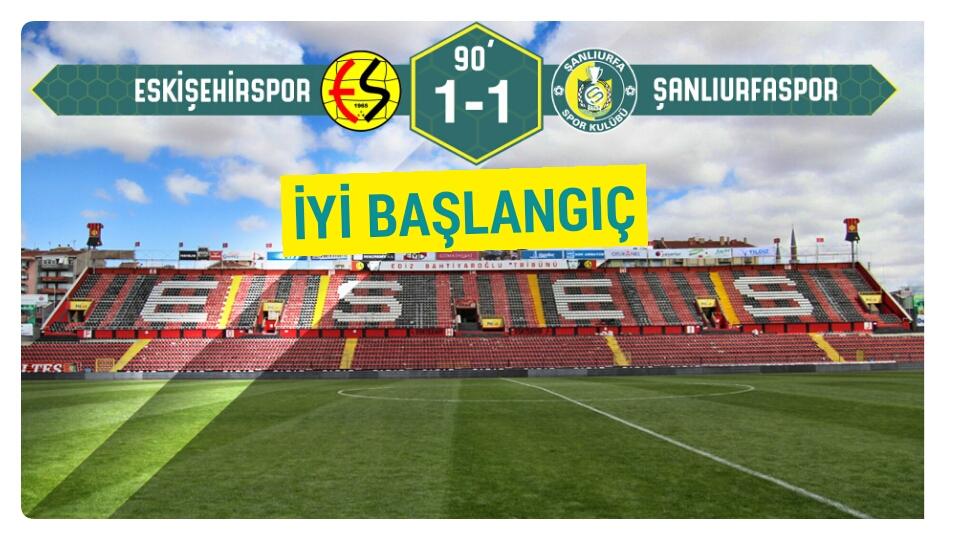 Urfaspor Eskişehir'den eli boş dönmüyor