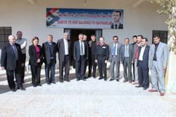 Ceylanpınar Belediye heyeti Suriyede