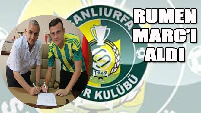 Şanlıurfaspor, Rumen Marc'ı aldı