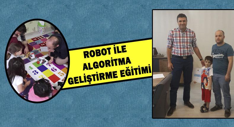 HARÜSEM'de Robot İle Algoritma Geliştirme Eğitimi