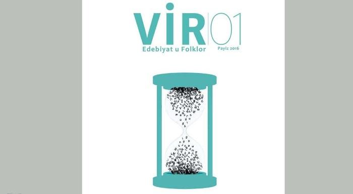 Zazaca yeni kan: 'Vir' dergisi çıktı