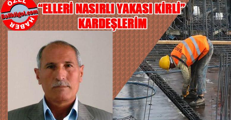 Mustafa Yıldırım'dan işçili bayram mesajı