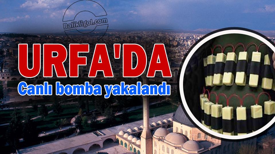 Son Dakika! Şanlıurfa'da canlı bomba yakalandı