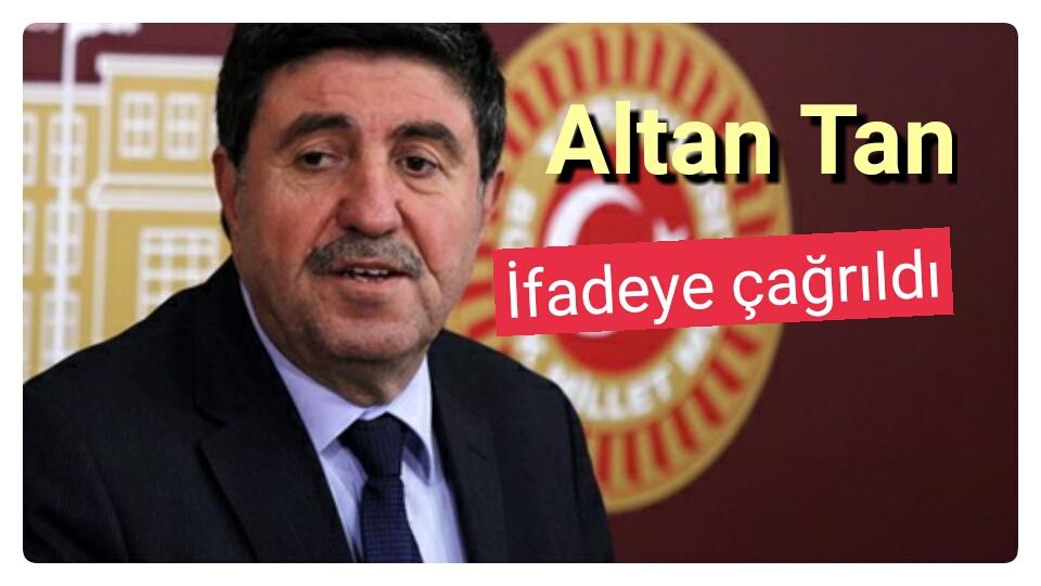 Urfa'daki konuşma başını yaktı! Altan Tan'a kötü haber
