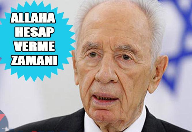 Müslümanlara kan kusturan Siyonist Şimon Peres öldü