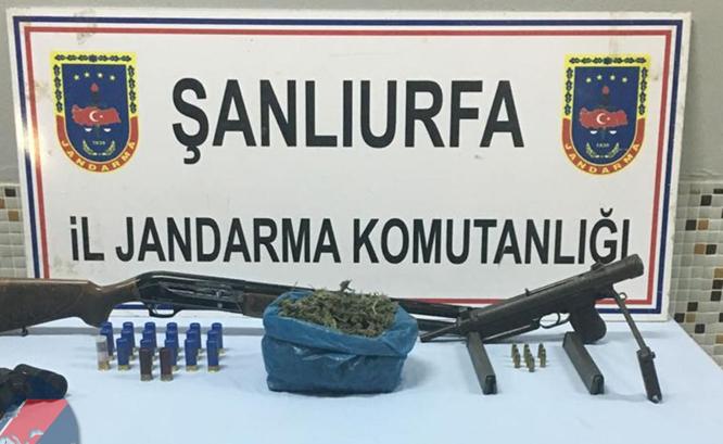 Şanlıurfa'da uyuşturucu ve silaha geçit yok
