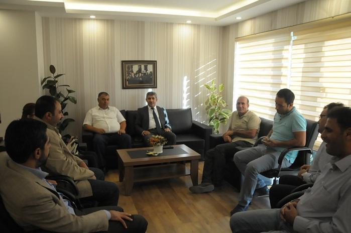 Gazeteciler BELSAN Genel Müdürü Nusret Urmak'ı ziyaret etti