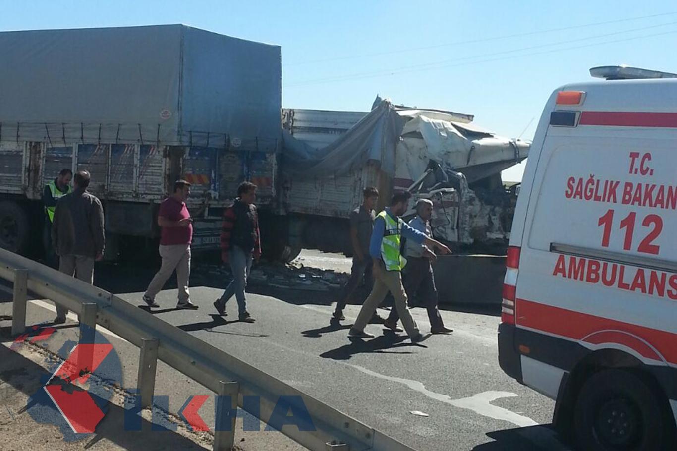 Urfa'da trafik kazası: 3 yaralı