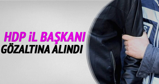 Urfa'da HDP eş başkanı Ayşe Sürücü gözaltına alındı