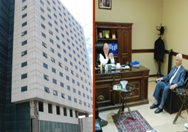 ŞUTSO, abide'deki 5 yıldızlı otele ortak arıyor