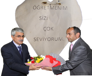 Arslan, Öğretmenler Gününü Kutladı