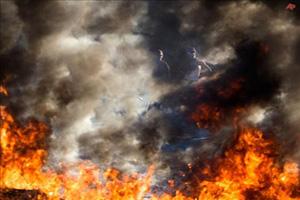 İsrailde yangın: 40 mahkum yanarak öldü