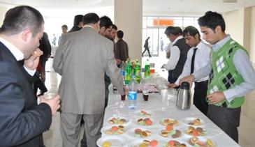 Siyaset Akademisi ikramı Hacı Bekirden