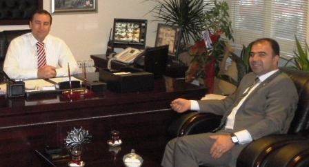 Başkan Çiftçi'den Korkmaz'a ziyaret