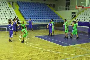 Mahalle takımları Basketbol maçları ilgi çekiyor
