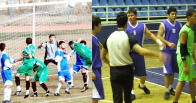 Urfa'da Haftalık Spor Müsabakaları