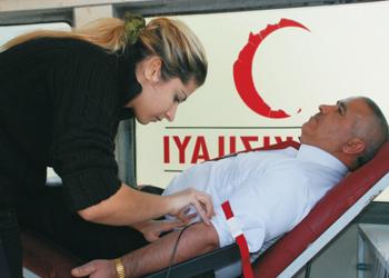 TÜMSİAD kan bağışında bulundu