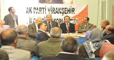 Viranşehir AK Parti 4. İstişare toplantısı yapıldı