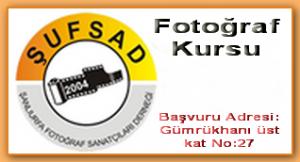 ŞUFSAD Fotoğraf kursu açıyor