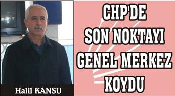 CHP il başkanı Kansu oldu