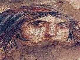 'Çingene Kızı' mozaiğine ilginç kimlik!