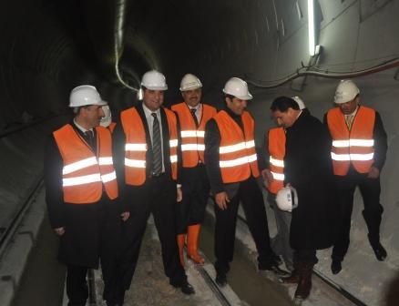 Bakan Eroğlu, Suruç Tünelini inceledi
