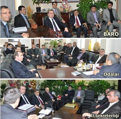 AK Partiden BARO, Odalar Birliği ve İl Sekreterliğine ziyaret