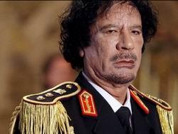 Kaddafi Suçluyu Buldu: El-Kaide!