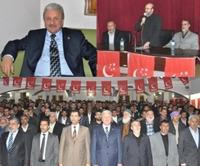 SP'li Aydın; Seçim startını Urfadan verdi