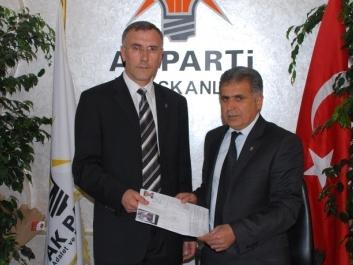 AK Partide ilk aday adayı Çakmaklı